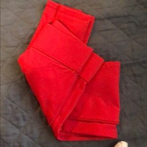 New buffBunny red salsa leggings small